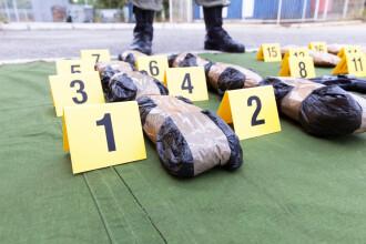 Ce a urmat după ce câțiva traficanți au îngropat pachete cu droguri în pădure