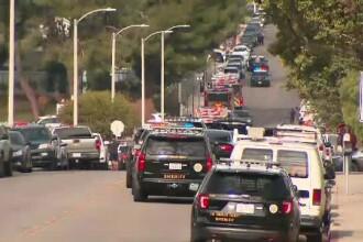Atac armat într-un liceu din California. Mai multe persoane au fost împușcate de un elev