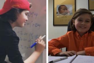 Povestea fetiței geniale care va termina facultatea la doar 9 ani. Ce vrea să facă apoi