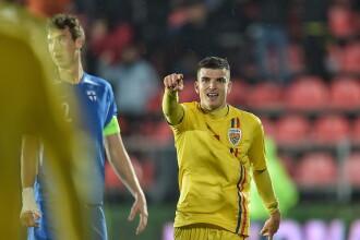 Mesajul lui Mihăilă după ce a marcat de 3 ori în meciul cu Finlanda U 21