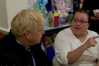 Moment jenant pentru Boris Johnson. Premierul, luat la rost de oamenii afectați de inundații