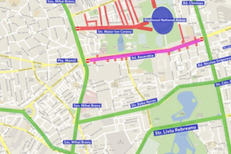 Restricții de trafic pentru meciul România-Suedia. Metrorex a prelungit programul