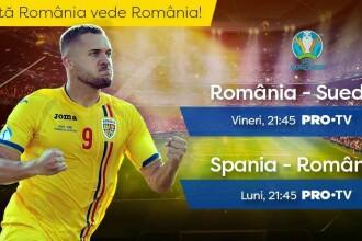 Meciul România - Spania, luni, în direct la PRO TV. Tricolorii mai au o șansă