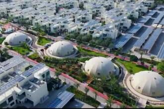 Cartierul viitorului din Dubai. Vilele folosesc doar energie solară și totul se reciclează