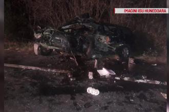 Accident grav provocat de un șofer beat în Hunedoara. Ce manevră ilegală a făcut