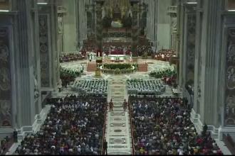 Papa a invitat la masă 1.500 de persoane nevoiașe. Cu ce preparate i-a servit