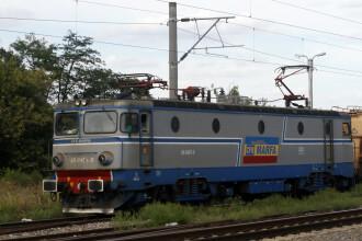 Tren plin cu cărbune deraiat în Mehedinți. Traficul feroviar este blocat