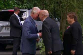 Salutul inedit dintre prințul Charles și premierul Noii Zeelande | VIDEO