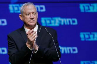 Criza politică din Israel, departe de final. Benny Gantz nu a reușit să formeze un guvern