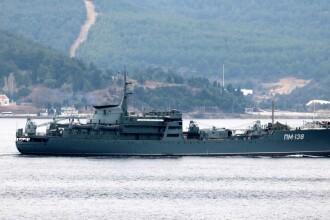 Ucraina acuză că navele returnate de ruși au fost sabotate și că le-ar lipsi toaletele