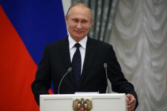 """Putin susține că Rusia deține un sistem de propulsie a rachetelor """"fără egal în lume"""""""