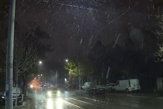 Prima ninsoare din București. Cum s-au pregătit autoritățile de intervenție
