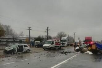Accident extrem de grav pe centura oraşului Focşani. Doi morţi şi 4 răniţi