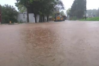 """Scene de coșmar în Europa. Mai multe orașe """"sub apă"""", după ploile abundente"""