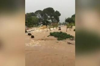 Morți și pagube materiale uriașe din cauza inundațiilor, în Franța și Italia