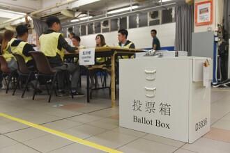 Victoria opoziției la alegerile locale din Hong Kong, trecută sub tăcere în China