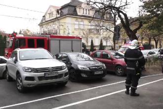 Evacuare de urgență într-un liceu din Timișoara, din cauza mirosului de gaz