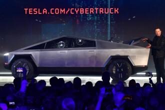 Elon Musk explică de ce s-au spart geamurile prototipului Cybertruck