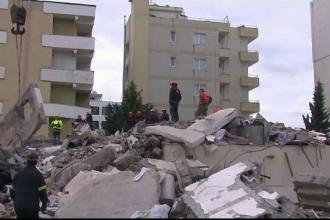 Luptă acerbă în Albania pentru salvarea victimelor de sub ruine. Bilanțul morților crește