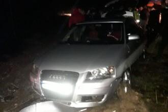 Un tânăr băut și fără permis a plonjat cu mașina în Dunăre. Cum l-au găsit polițiștii
