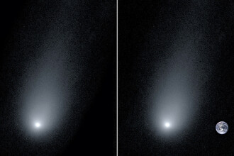 Descoperire uluitoare făcută de astronomi. Are coada de 14 ori mai mare decât diametrul Terrei