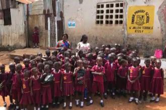 Proiect inițiat de doi antreprenori din Cluj pentru copiii din Africa