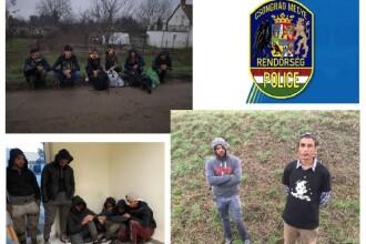 Zeci de migranți prinși într-un tunel săpat pe sub frontiera Ungariei su Serbia