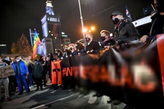 Încă o zi de proteste în Polonia. 10.000 de oameni, nemulțumiți față de o decizie a Curții Constituționale