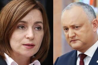 R. Moldova își alege președintele. Maia Sandu și Igor Dodon, în turul al doilea al alegerilor prezidenţiale