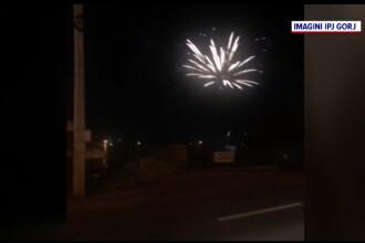 Petrecere cu artificii şi mulţi invitaţi, pentru un copil de 2 ani. Poliţia l-a găsit acolo şi pe