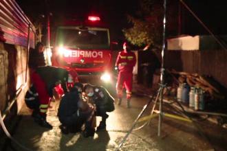 Pericol de explozie la Iași. Ce au găsit pompierii într-o locuință care a luat foc