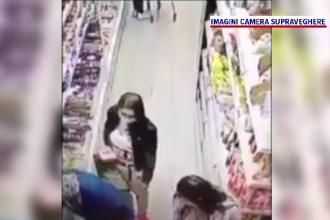 Bâtrână tâlhărită într-un supermarket, în timp ce își făcea cumpărăturile. Cum i-au furat 2 tinere portofelul