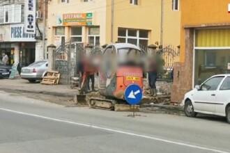Polițist din Lugoj, înjunghiat de un trecător căruia i-a cerut să-şi pună masca