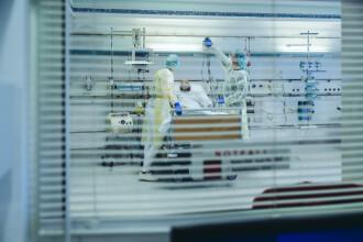 Coronavirus România. Record de pacienți internați în secțiile de Terapie Intensivă