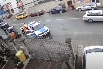 Bărbatul care a rănit un polițist din Lugoj cu cuțitul a fost de fapt agresat de agent