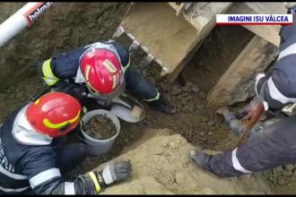 Accident tragic în Râmnicu Vâlcea. Un mal de pământ s-a prăbușit peste doi muncitori