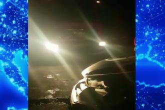 Accident violent pe autostrada București- Pitești. O mașină a fost spulberată de un TIR
