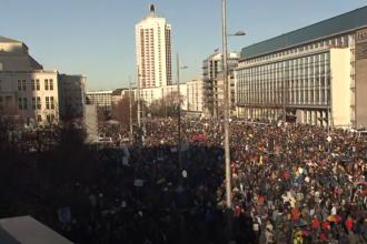 Mii de oameni au participat la un protest anti-mască în Germania
