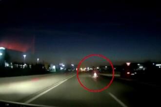Motociclist spulberat de o mașină, la Timișoara. Bărbatul a murit pe loc