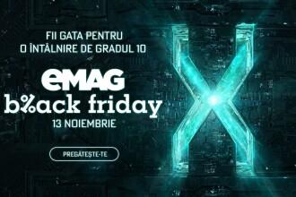 Black Friday 2020 în România. EMAG a anunțat ce produse vor fi la ofertă specială