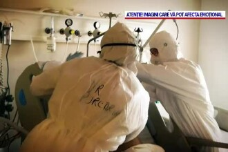 Nu mai sunt locuri în morga spitalului din Sibiu. Trupurile neînsuflețite sunt depuse în containere