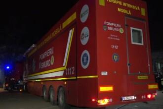 Unitate mobilă de terapie intensivă, adusă la spitalul din Botoșani. Câte locuri sunt acum disponibile