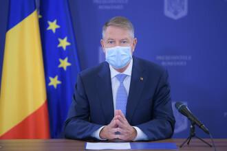 Klaus Iohannis: Se văd efectele primului set de măsuri anunțat de Guvern. Apelul președintelui României