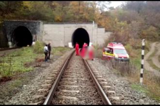 Un angajat al CFR a fost călcat de tren chiar în timp ce lucra într-un tunel