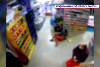 Momentul în care Cristina Joia a fost lovită violent. Video din magazin