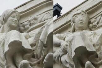 """O statuie dintr-un oraș din Spania a fost distrusă după o restaurare eșuată. """"Pare un personaj din desene"""""""