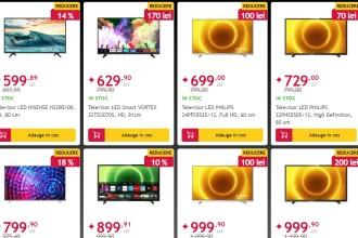 Cele mai ieftine televizoare de Black Friday. Prețurile încep de la 599 de lei la Altex