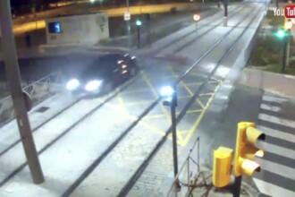 O șoferiță din Spania a condus un kilometru pe şinele de metrou. Ce alcoolemie avea