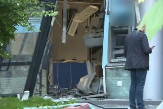 Cine e individul care a aruncat în aer un bancomat în București, fugind cu 100.000 €