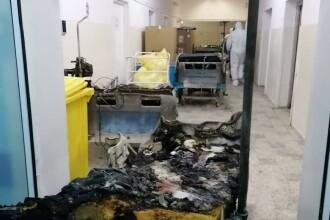 Incendiu violent la Spitalul Judeţean Piatra Neamţ. Zece persoane au murit, iar medicul de gardă este în stare critică